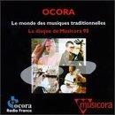 Le Monde des Musiques Traditionnelles - Le Disque de Musicora 98 CD 1998 ocora france used mint