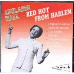 adelaide hall - red hot from harlem CD 1994 flapper pavilion pressed in germany - mint