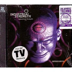 industrial strength - compiled by lenny dee CD 2-disc set 1995 earache - used