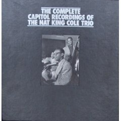 the complete capitol recordings of the nat king cole trio CD 18-disc mosaic boxset - used mint