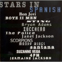 stars in spanish - various artists CD 1995 polygram 13 tracks used mint