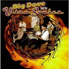 big dave & the ultrasonics - self-titled CD 1998 burnside used mint
