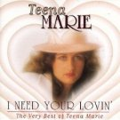 teena marie - i need your lovin : the very best of teena marie CD 1994 motown used mint