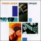 fareed haque - opaque CD 1995 blue note used mint