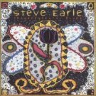 steve earle - transcendental blues CD 2-disc set 2000 e-squared artemis used mint