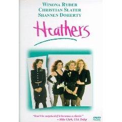 heathers DVD 1999 starring Winona Ryder, Christian Slater, Shannen Doherty, Lisanne Falk - used mint