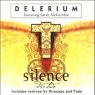 delerium featuring sarah mclachlan - silence pt. 2 CD single 2000 nettwerk 2 tracks used mint