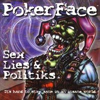 poker face - sex lies & politiks CD 2000 PhD music 13 tracks used mint