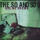 the so and so - give me drama CD 2004 supertiny records used mint