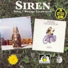 siren - siren / strange locomotion CD 1994 see for miles UK made in EC 23 tracks used mint