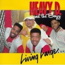 heavy D and the boyz - living large CD 1987 MCA 13 tracks used mint