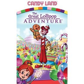 candy land : the great lollipop adventure VHS 2005 paramount used mint