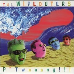 the wipeouters - p'twaaang!!! CD 2001 casual tonalities never records used mint
