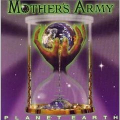 mother's army - planet earth CD 1998 import USG eastwest used mint