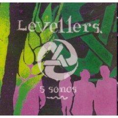 levellers - 5 songs CD 1993 elektra used mint