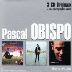 pascal obispo - coffret CD 3-disc boxset 2001 sony epic new factory sealed