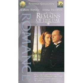 remains of the day - anthony hopkins and emma thompson VHS 1987 columbia used