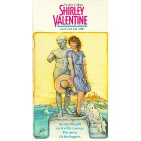 pauline collins and tom conti - shirley valentine VHS 1989 paramount used mint
