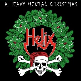 helix - a heavy mental christmas CD 2008 GBS 10 tracks used mint