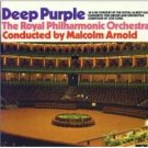 deep purple RPO malcolm arnold - concerto for group and orchestra CD 1990 EMI made in england mint