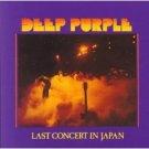deep purple - last concert in japan CD 1977 1998 warner bros made in japan used mint with obi strip