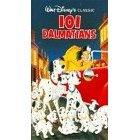 walt disney's classic - 101 dalmatians VHS 1992 79 minutes used mint