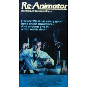 re-animator VHS vestron 1986 86 minutes NYSC color full screen used very good
