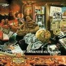 frank zappa - apostrophe & overnite sensation CD 1986 rykodisc used mint