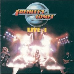 frehley's comet - live + 1 CD ep 1988 megaforce atlantic 5 tracks used mint