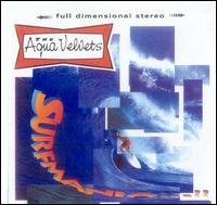 aqua velvets - surfmania CD1995 mesa 12 tracks used mint