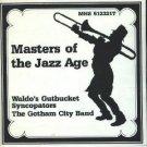 waldo's gutbucket syncopators & the gotham city band - masters of the jazz age CD 1989 MHS mint