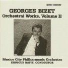 georges bizet - orchestral works volume II - MCPO with enrique batiz CD 1990 MHS mint