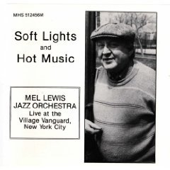 soft lights and hot music - mel lewis jazz orchestra live at village vanguard NYC CD 1989 MHS mint