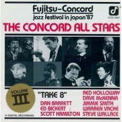 the concord all stars - take 8 volume III CD 1988 concord records used mint