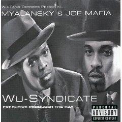 wu-syndicate - myalansky & joe mafia CD 1999 priority used mint