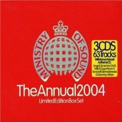 ministry of sound - the annual 2004 limited edition boxset CD 3-disc 2003 made in UK used mint