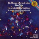 the mormon tabernacle choir - silent night CD 1981 sony japan used mint