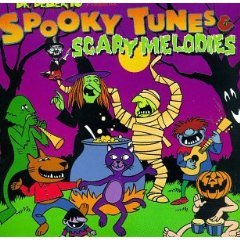 dr. demento presents spooky tunes & scary melodies CD 1994 rhino used mint