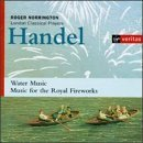 handel - water music and music for the royal fireworks - roger norrington & LCP CD 1997 virgin new