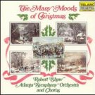 many moods of christmas - robert shaw & atlanta symphony orchestra + chorus CD 1983 telarc japan