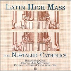 latin high mass for nostalgic catholics CD 1999 world library publications mint
