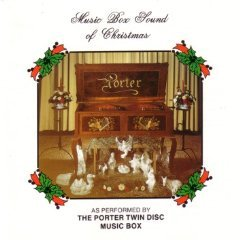 music box sound of christmas - the porter twin disc music box CD 1986 porter music box canada mint