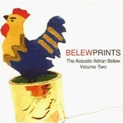 belew prints - the acoustic adrian belew volume two CD 1998 adrian belew used mint