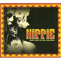 hippie - music from the 60s generation CD 2004 warner aec used mint