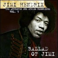 jimi hendrix - authentic  PPX studio recordings vol. 3 ballad of jimi CD 1996 spv cbh germany mint