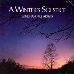 windham hill artists - a winter's solstice CD 1985 windham hill BMG Direct used mint