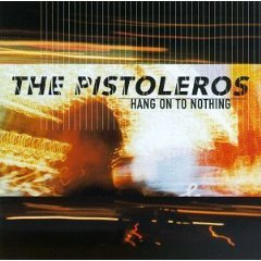 the pistoleros - hang on to nothing CD 1997 hollywood used mint barcode punched