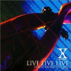 X japan - live tokyo dome 1993 - 1996 CD double 1997 polydor japan used mint