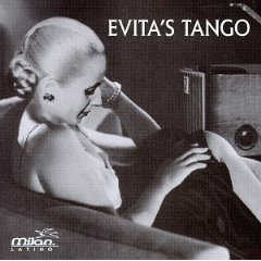 evita's tango - evita's tango CD 1996 milan latino BMG used mint barcode punched