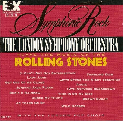 the london symphony orchestra plays the music of the rolling stones CD 1994 essex impuls used mint
